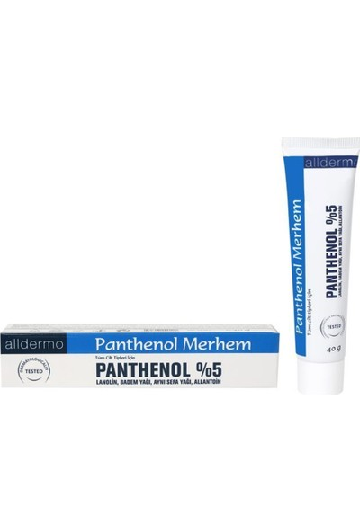Alldermo Panthenol Merhem 40 gr