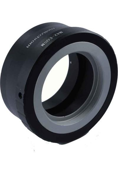 Mettzchrom M42-EOSM Lens Adaptörü