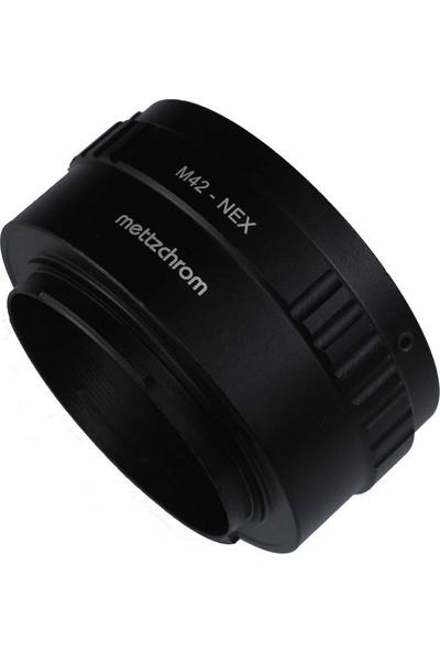 Mettzchrom M42-NEX Lens Adaptörü