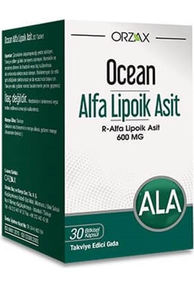 Ocean Alfa Lipoik Asit 600 Mg 30 Kapsül SKT:03/2023