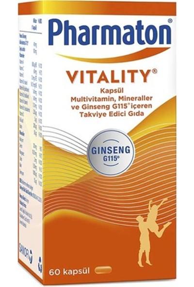 Pharmaton Vitality Multivitamin 60 Kapsül
