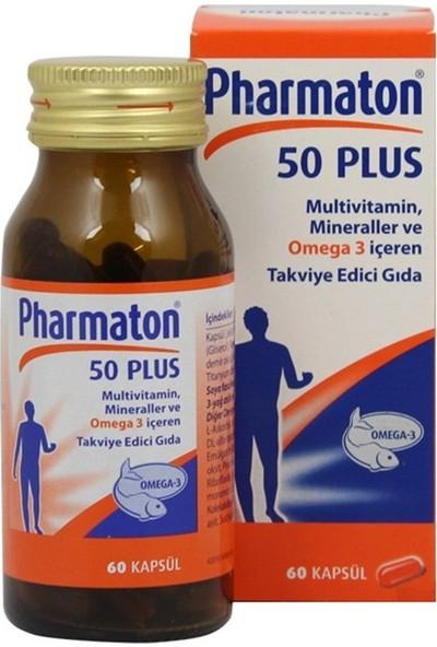 Pharmaton 50 Plus 60 Kapsül SKT:06/2021