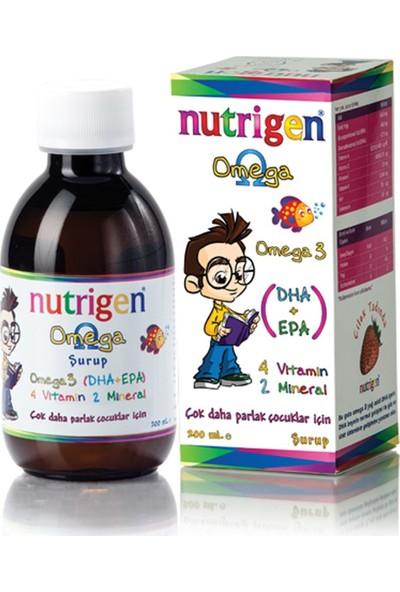 Nutrigen Omega 3 Balık Yağı Şurubu Çilek Aromalı
