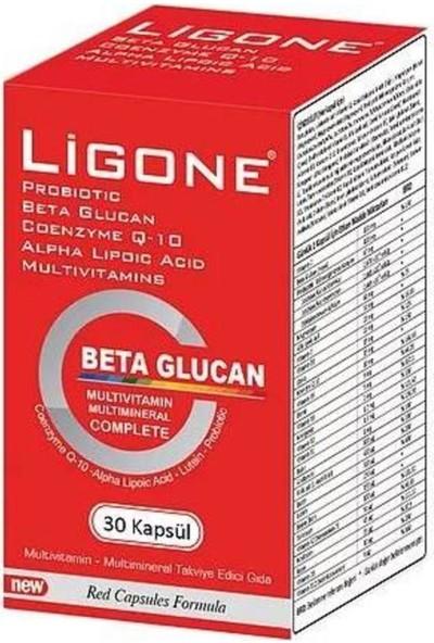 Ligone Beta Glucan Probiotic Multivitamin 30 Kapsül