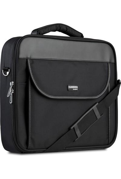 Classone G16001L 15.6 inç Notebook El Çantası-Siyah