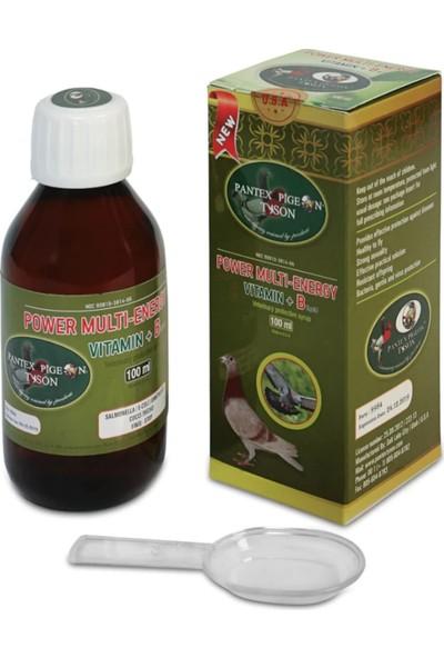 Tyson Power Multi Enrgy Vitamin + B Kana Hızlı Karışır