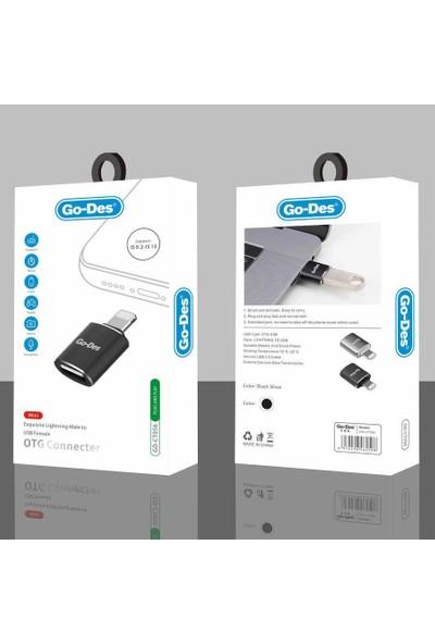 Go-Des GD-CT056 USB To Lightning Otg Çevirici Adaptör