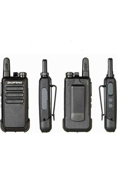 Baofeng Bf - R5 Kablosuz El Telsizi - Siyah