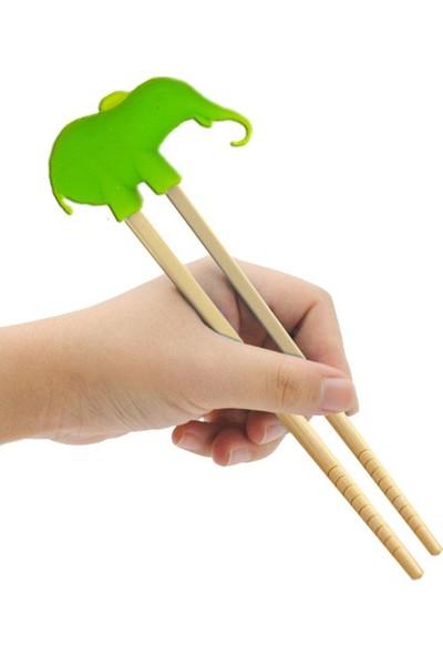 Evim Tatlı Evim Eğitici Bambu Chopstick 3'lü Set
