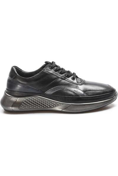 Fast Step Deri Kürklü Erkek Sneaker Ayakkabı 722KMA491