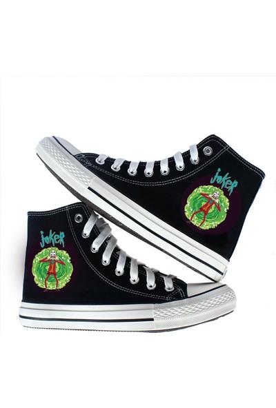 Art Fashion Rick Joker Canvas Ayakkabı