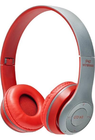 Mediacholic P47 Kulak Üstü Kablosuz Kulaklık Bluetooth Kulaklık