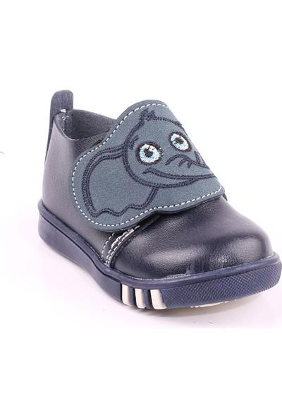 Akıllı Şirin İlk Adım Erkek Çocuk Mevsimlik Ayakkabı Lacivert Haki