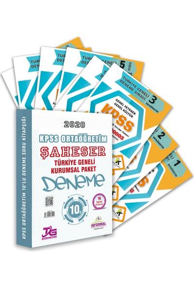 Informal Yayınları KPSS Ortaöğretim & Gy - Gk Tg Kurumsal 10'lu Şahaser Paket Deneme Kitapçığı & Dijital Çözümlü