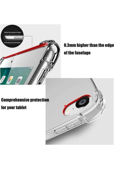 Ceplab Samsung Galaxy Tab S6 Lite P610 P615 P617 Kılıf Şeffaf Shockproof Silikon Kapak