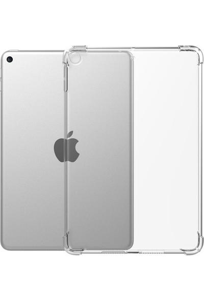 """Ceplab Apple iPad 6.nesil 9.7"""" 2018 Kılıf Şeffaf Shockproof Silikon Kapak"""
