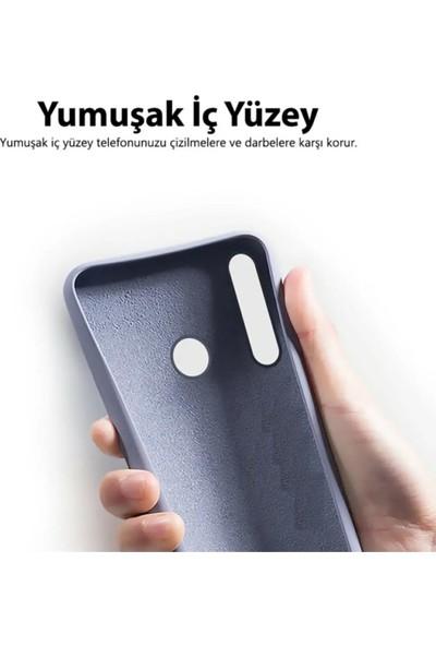 Sarı Store Samsung Galaxy S9 Plus Kılıf İçi Kadife Lansman Kapak Açık Mavi