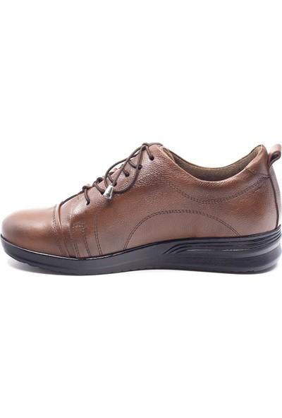 Eşle 20K 851 Kadın Deri Ayakkabı Taba