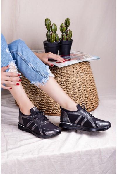 Eşle 20K Fendi Kadın Günlük Ayakkabı Platin