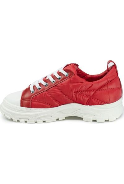 Eşle 20K Paro Kadın Günlük Spor Ayakkabı Kırmızı