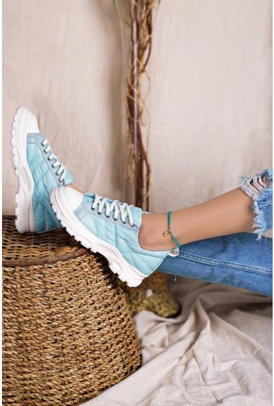 Eşle 20K Paro Kadın Günlük Spor Ayakkabı Mavi