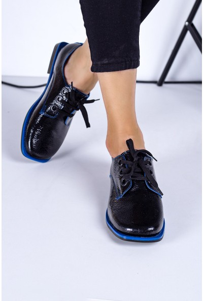 Eşle 20K Mask Kadın Günlük Ayakkabı Siyah - Mavi
