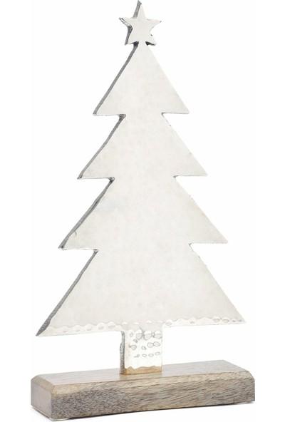 Yargıcı Ağaç Yılbaşı Süsü ( 16 X 28 Cm )