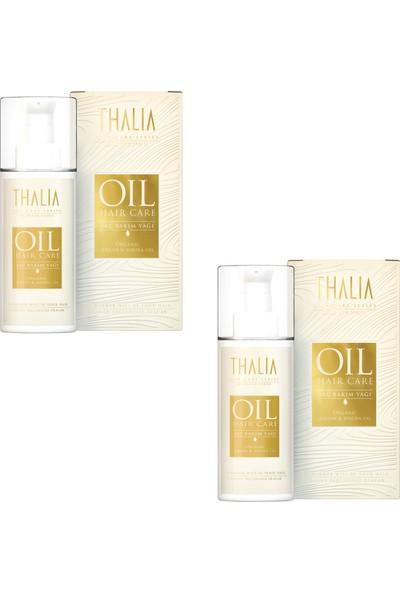 Thalia Organik Argan ve Jojoba Saç Bakım Yağı 75 ml x 2 Adet