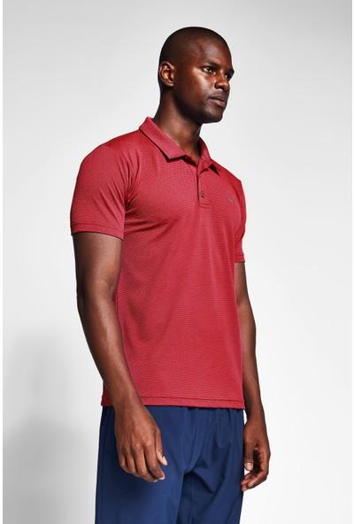 Lescon Bordo Erkek T-Shirt 20S-1297-20N