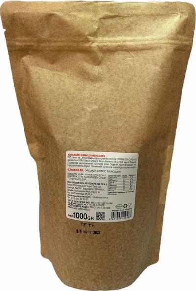 Organik Gurme Kırmızı Mercimek 1 kg