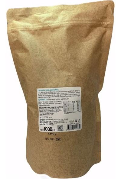 Organik Gurme Yeşil Mercimek 1 kg