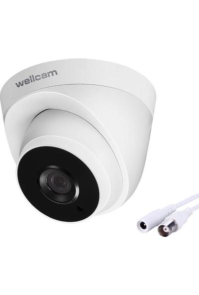 Wellcam WM-2101P Ahd Kamera Dome 2mp 3.6mm 1080P
