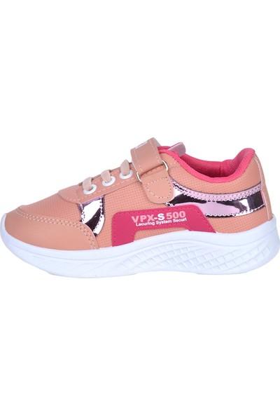 Bolimex 500 Pudra Cırtlı Kız Çocuk Spor Ayakkabı