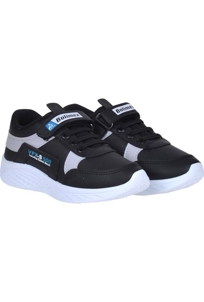 Bolimex 500 Siyah Cırtlı Erkek Çocuk Spor Ayakkabı