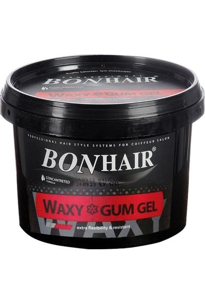 Bonhair Waxy Gum Gel Waxlı Saç Jölesi 3 x 750 ml