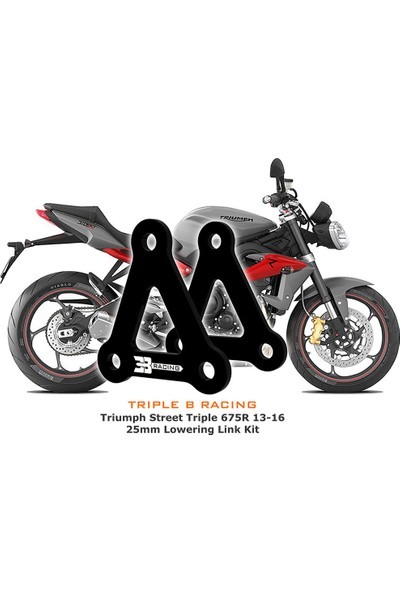 Triple B Racing 3b Racing - Triumph Street Triple 675 S/ R /rx 25 mm Alçaltma Kiti