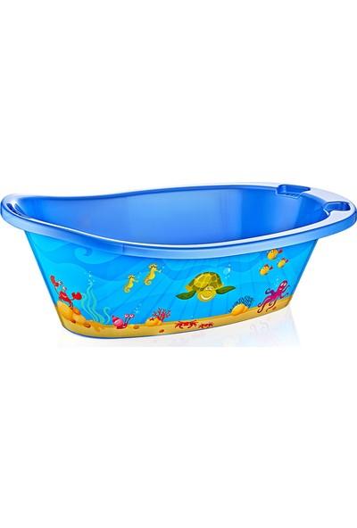 Alper Banyo Mavi Desenli Çocuk Küveti ( File Dahil ) ALB0468