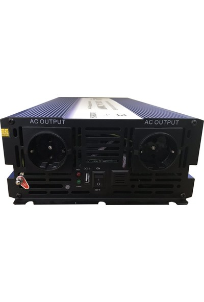 Alpex Tam Sinüs Inverter 2500 W 12 V