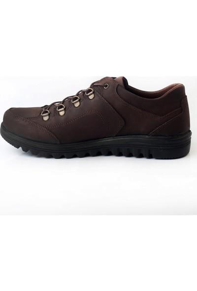 Pabucmarketi Comfort Kahve Greyzi Erkek Keycıl Ayakkabı