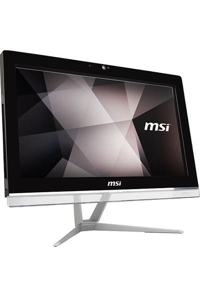 "MSI Pro 20EXTS 8GL-051XEU Intel Celeron N4000 8GB 256GB SSD Freedos 19.5"" All In One Bilgisayar"