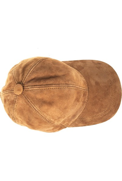 Veskemann Comfort Hakiki Deri Süet Beyzbol Şapka