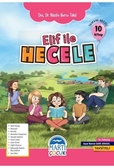 Elif İle Hecele Okuma Seti – İlkokul 1. Sınıf - Nazife Burcu Takıl