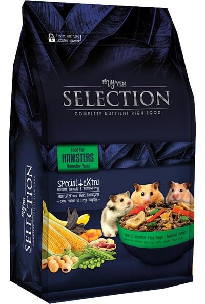 Myyem Selection Gerçek Sebze ve Meyve Parçacıklı Hamster Yemi 750gr