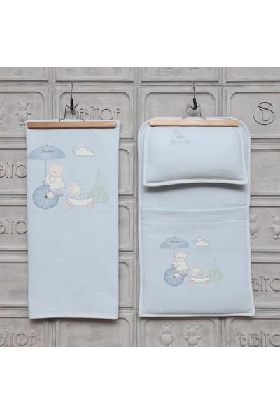 Bebitof Şemsiyeli Ayıcık Bebek Alt Açma Seti 50005