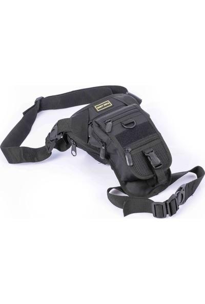 Tactical Özel Tabanca Taşıma Bölmeli Omuz ve Bacak Çantası