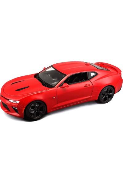 Maisto 2016 Chevrolet Camaro Ss 1:18 Kırmızı Model Araba