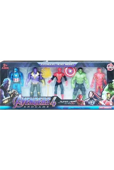 Kids Avengers 5 Figürlü Kutulu Set 2155