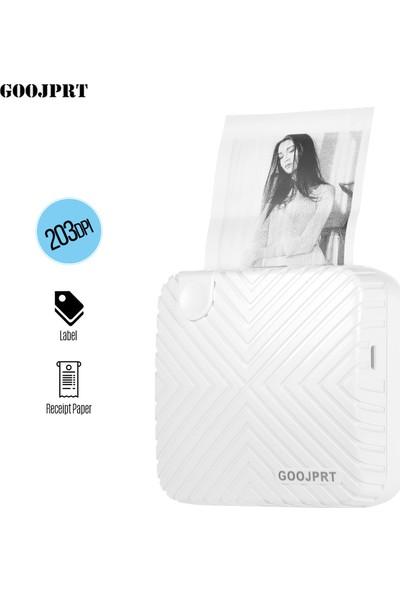 Goojprt P6 Cep Mini Yazıcı Taşınabilir Bt Kablosuz (Yurt Dışından)
