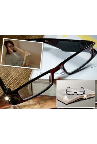 Mormela Kitap Okuma LED Işıklı Kitap Gözlüğü