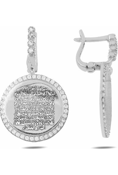 Rams Gümüş Dua Küpe